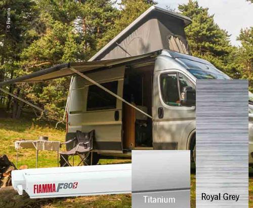 Fiamma F80S tagtelt 2,9m, til varevogne og campister