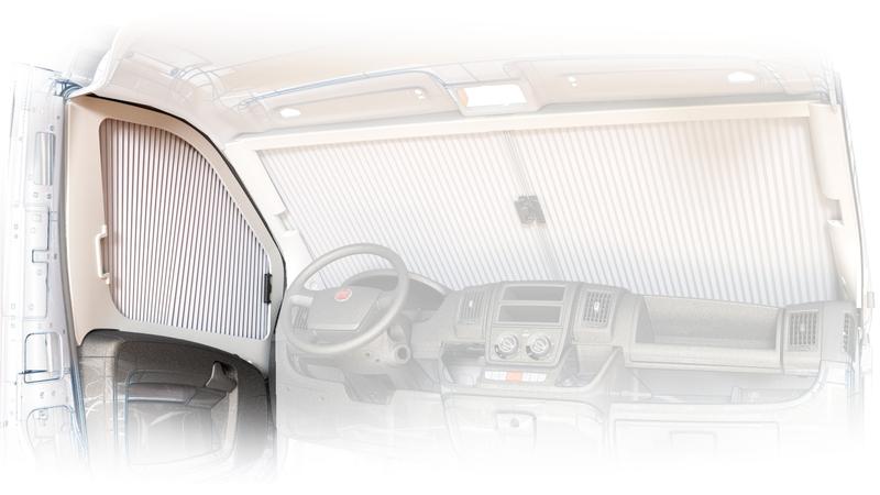 Az ECLIPSE oldalsó redőnyök, f. Ducato X290 15-től