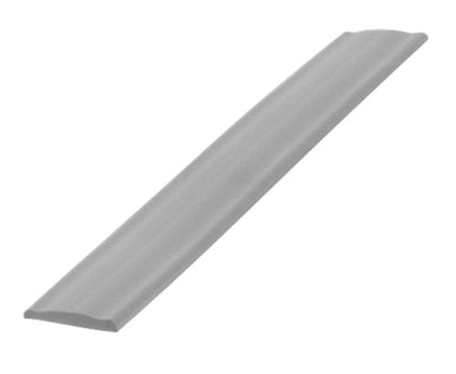 Profile-section cover silver 12mm, 200 metre roll
