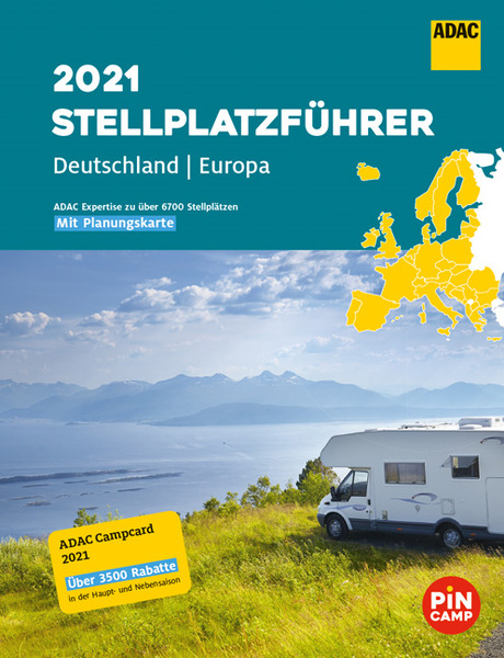 Guide du camping ADAC 2020 Allemagne + Europe du Nord