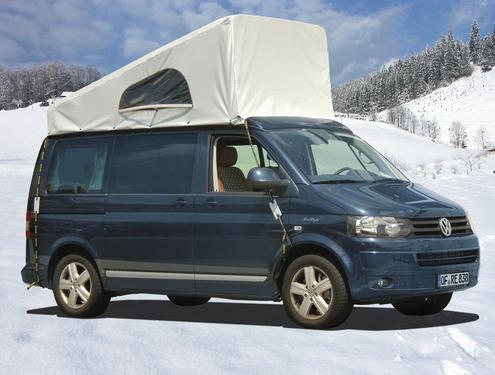 Wetterschutz für Schlafdach VW T5/6 Easyfit & California vorne hoch