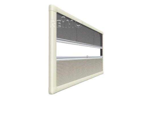 Duo Plissee UCS Profilsatz B.900mm-1400mm weiß