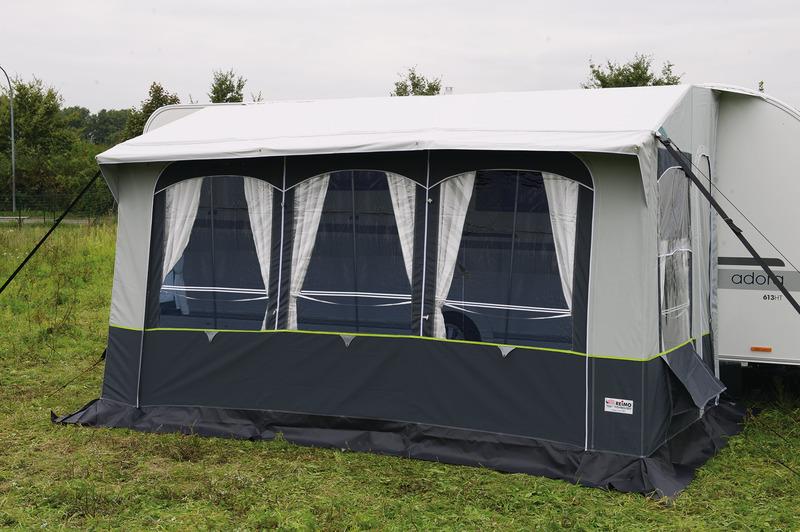 Caravan fortelt Casa Royal S 390 med stålstænger