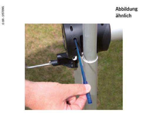 Adjusting pin Endpos.Moto