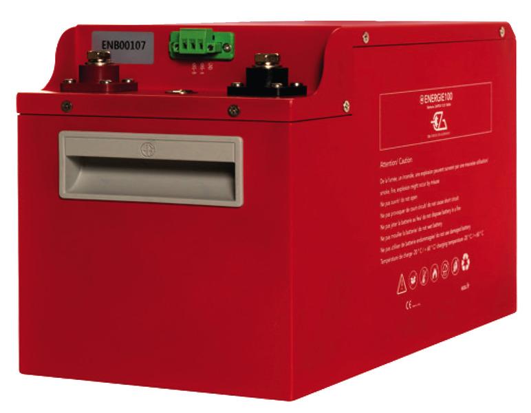 Lithium-Batterie ENERG-E200200Ah