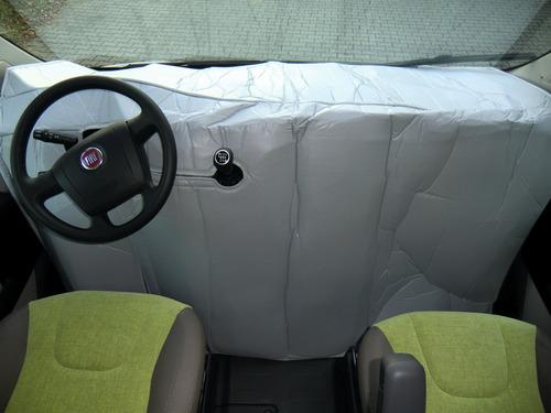 Thermomatte Wohnmmobil im Fahrerhausbereich