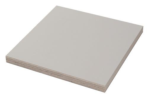 Pannello per la costruzione di mobili Laminato di pioppo grigio chiaro
