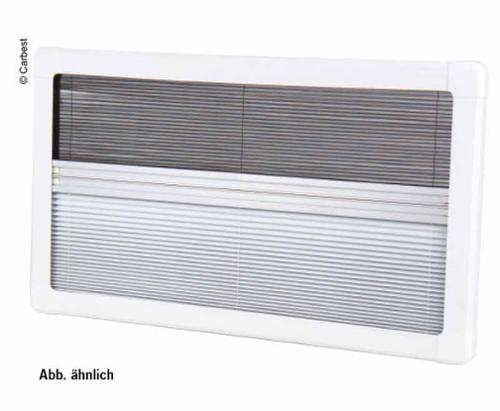 Carbest Blackout Pleated Blind with Flyscreen for RW Motion 800x450