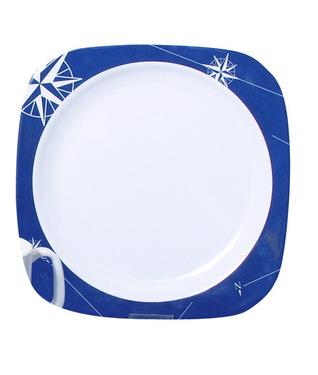 Melamine plate set (Ø 22,5cm) Polarstern, 2 pieces