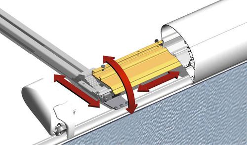 Mark-Montagesystem 1, 6002/6502, 2 Schienen