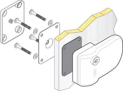 Türsicherung außen 3 Stück im Set Safe Door