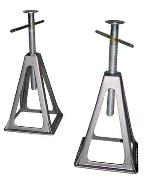 Carbest Aluminium Stützbockset für Wohnwagen 4er Set