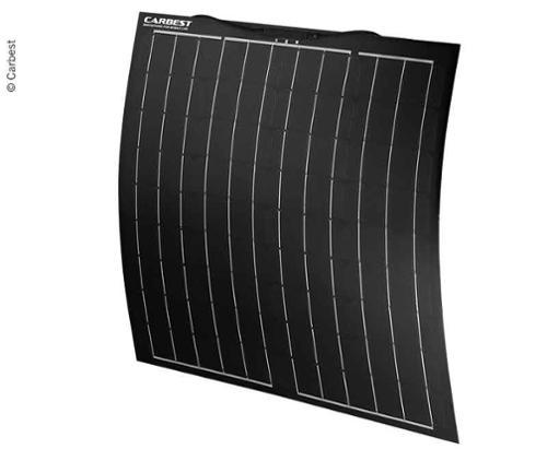 Flexible Solarmodule »ECO«, 12V, 80W, 800 x 670 x 3mm, weiß
