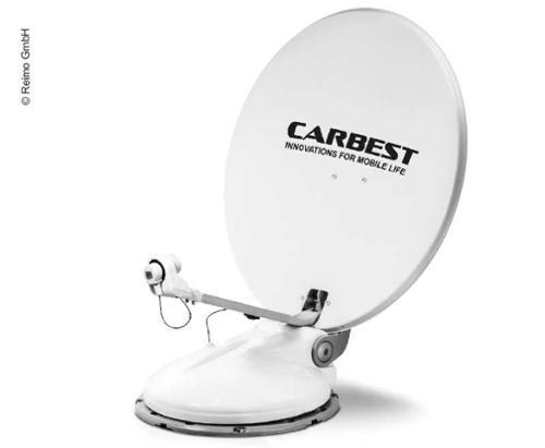 Carbest Travelsat 2 - Single Sat-Anlage mit Bluetooth und Skew (80 cm)