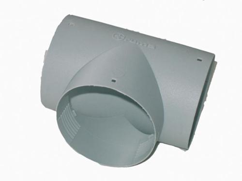 TS T-piece agate grey 65mm