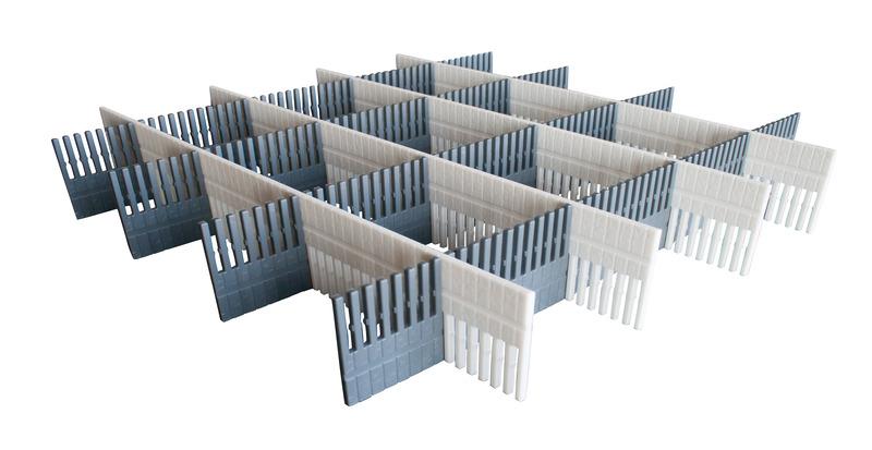 Stauleisten für Schubladen und Kühlschränke, 8er Sets
