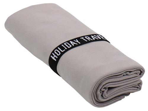 Microfiber håndklæde CANNON BEACH, 200x80cm, grå