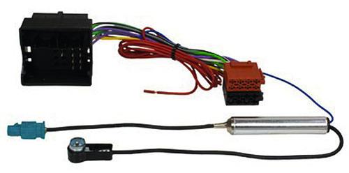 Radioadapterkabel VWT5,Most auf ISO+Phantomeinspeisung Fakra ISO