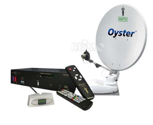 Satellitsystem Oyster 65HDTV Skew, Twin LNB
