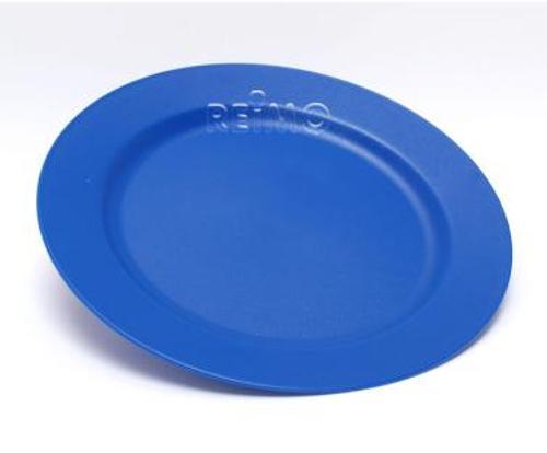 Melamin Teller Free Time blau, Ø außen/innen 25,5/17 cm