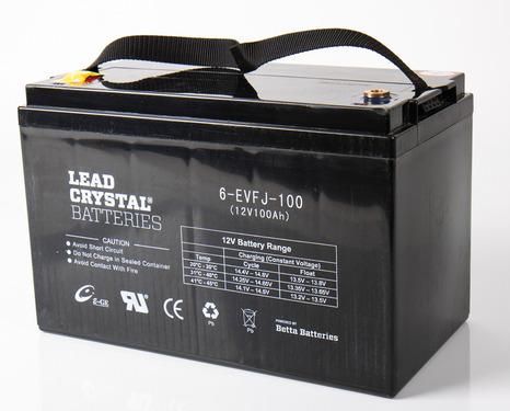 Batterie à cristal de plomb 100Ah