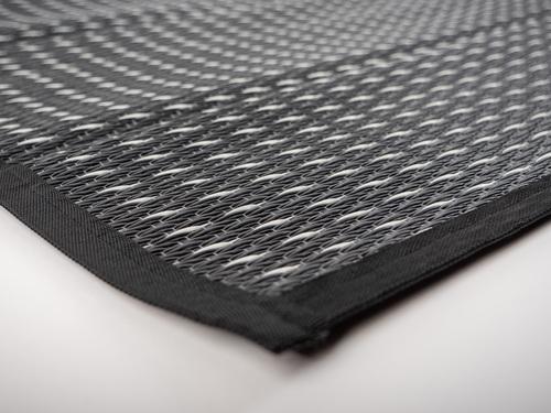 Markisen- / Zeltteppich CLOUD 2,5 x 5m schwarz