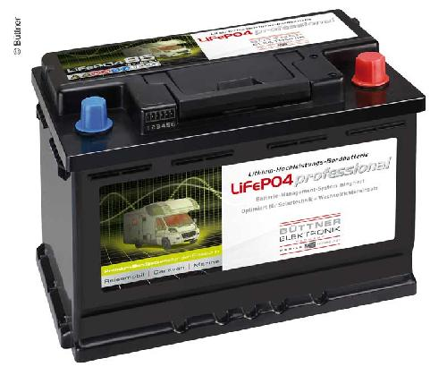 Battery with Lithium Technology 12V 80Ah