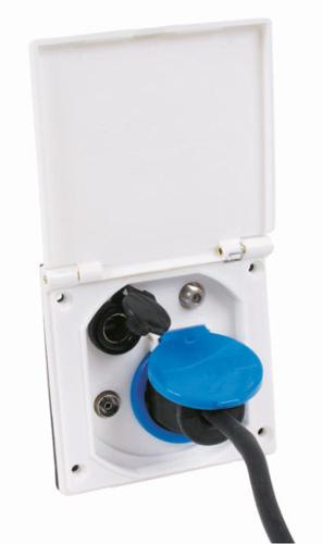 Quattro external socket 230/12V