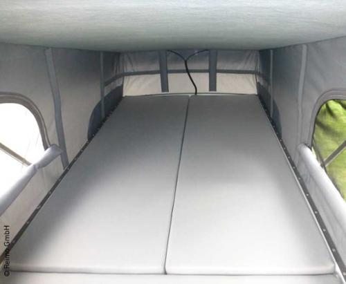 Maxivans Sprinter + Crafter için uyku çatı yatağı