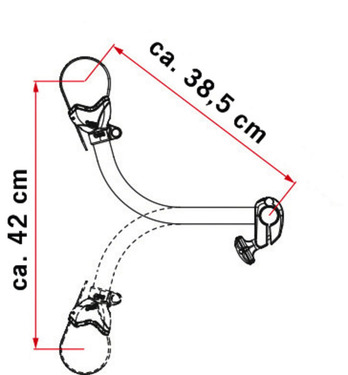 Fahrradbefestigung Bike Block Pro S3
