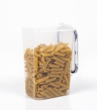 Opbevaringsboks og madbeholder gennemsigtig med låg