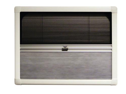 Profilo UCS plissettato Duo fino a 800 mm di colore grigio