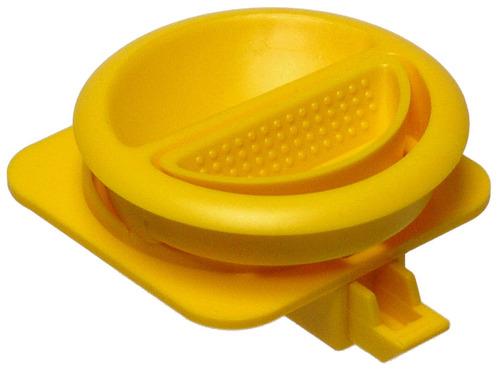 Reimo Möbelgriff rund, gelb, der Klassiker