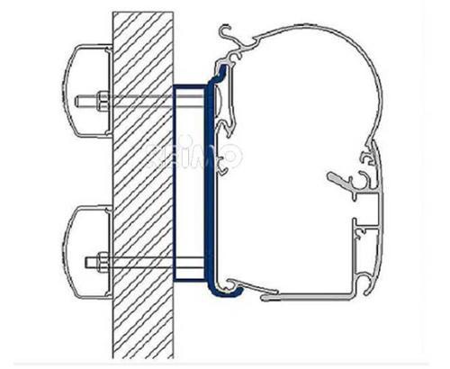 Prostor Adapter for Dethleffs Globebus for Awning 400 / 500