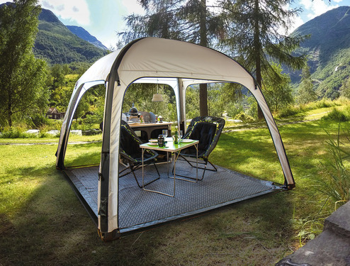 Luft-Pavillion Pianosa 3x3m für Camping & Party