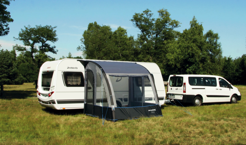 Inflatable tent for Caravan Lynx 240