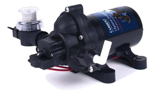 Pompa acqua 12V, 7 litri/min, 1,4 bar