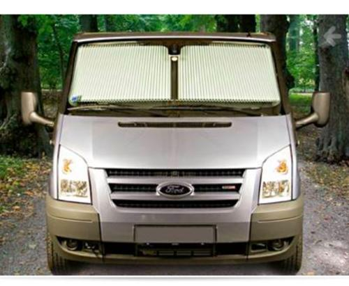 Blackout blind REMIfront side windows Ford 2014 and newer grey