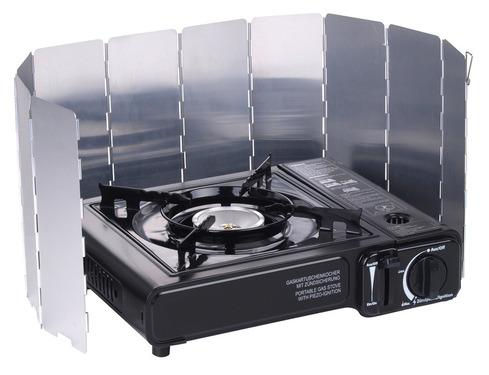 Falt-Windschutz für Kocher aus Aluminium
