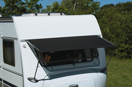 Caravan venstermarkies 190cm, grijs of blauw