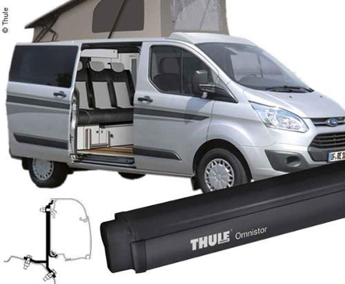 Awning Omnistor 4900 + Adapter Ford Custom 2,6m, for left side