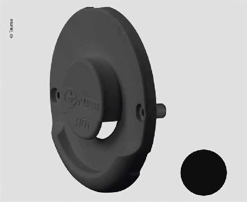 Fireplace outer part black for wall fireplace set ZR 80