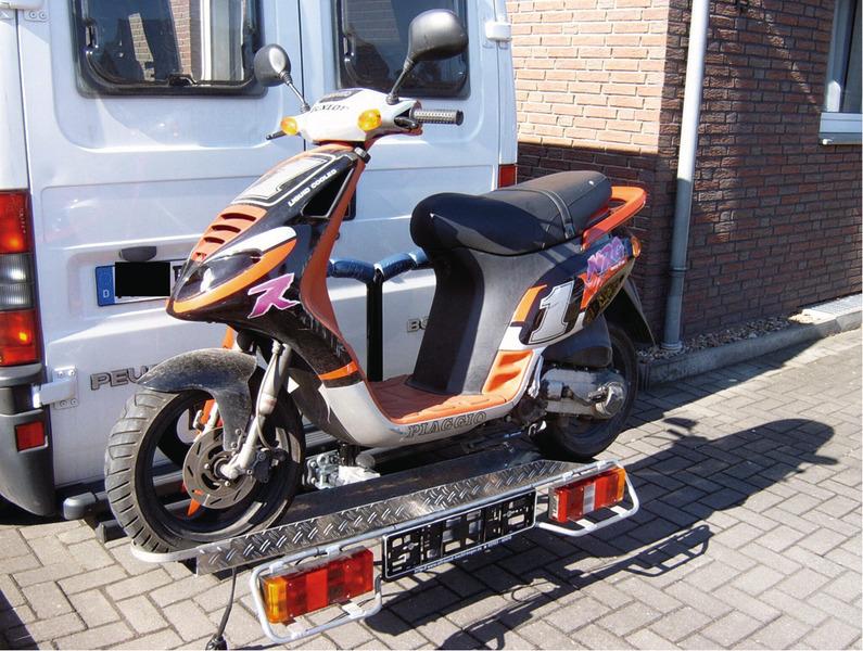 E-bike drager, scooterdrager voor AHK, 90 kg laadvermogen