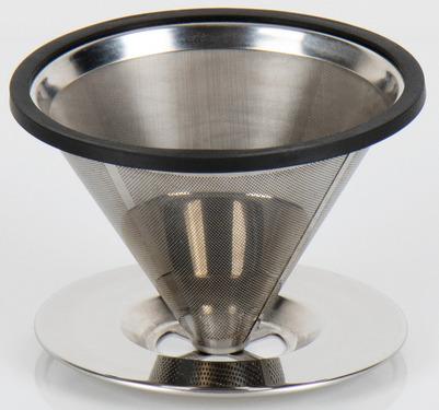 Edelstahl Kaffeefilter für 2 Tassen