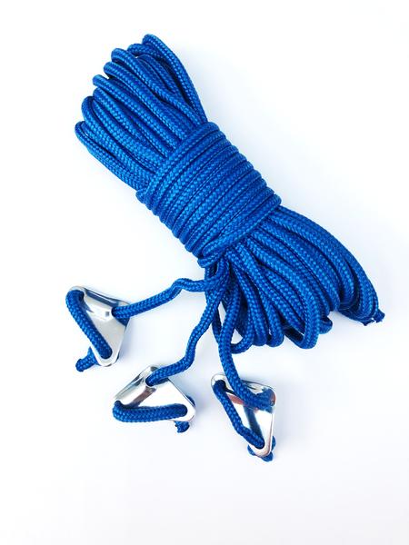 Abspannleine BENT blau