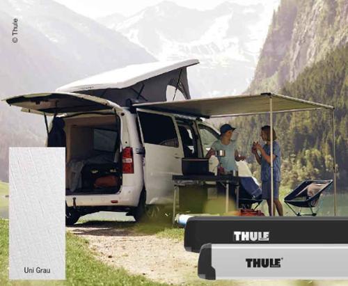 Thule tente 3200, 3.0m, uni gri, anodize gövde