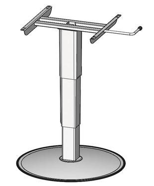 Enkelt kolonne løft 320-695mm, top og nederste højde