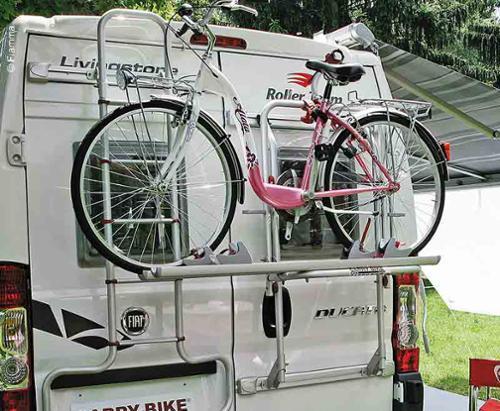 Fiamma cykelhållare bär cykel Fiat Ducato från 2006 (H2 + H3)