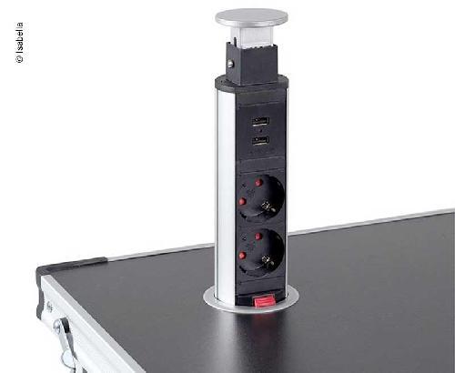 Isabella pop-up strømforsyning