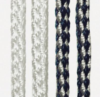 Rideau de porte KORDA 60 x 190cm, blanc/bleu